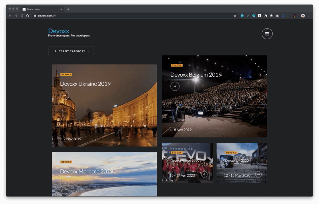 devoxx conferences