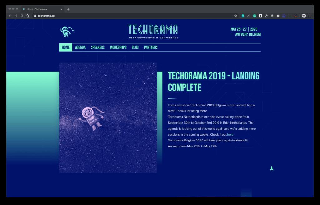 Techorama conference
