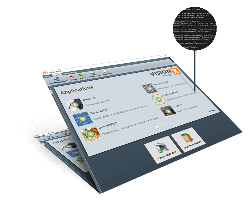web application development tool
