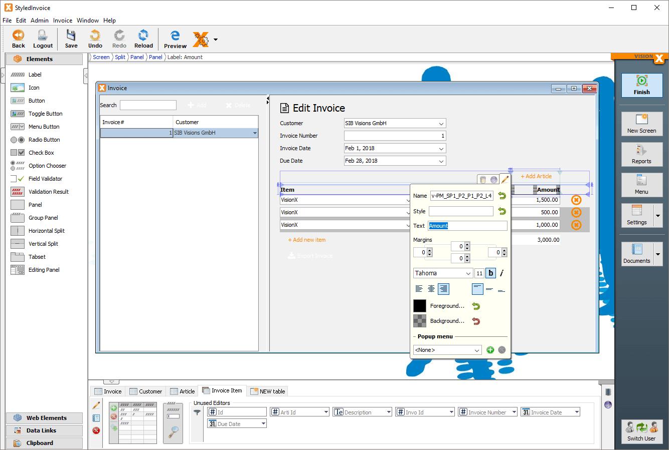 VisionX Eclipse plugin download