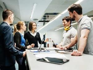 A Team forming the Digital Transformation