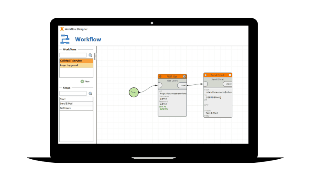Workflows with low code