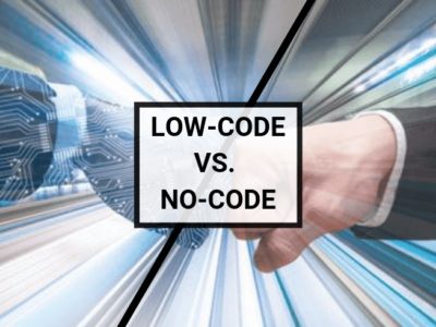 Low-code/no-code development heats up