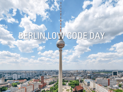 The first Low-Code Day Berlin is over. Here's what we learned.