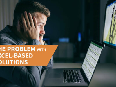 Addicted to spreadsheets: the problem with Excel-based solutions