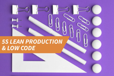 5S Lean Production & Low Code
