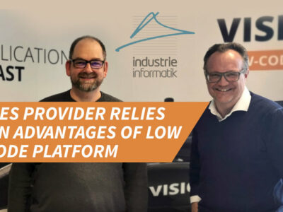 MES provider relies on advantages of low code platform: Strategic partnership between Industrie Informatik & SIB Visions