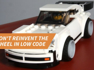 Don't reinvent the wheel in low code: Easy-to-use Smart Bricks for common requirements