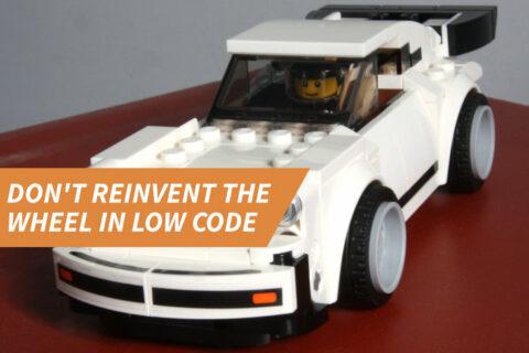 Smart Bricks: Don't Reinvent the Wheel in Low Code