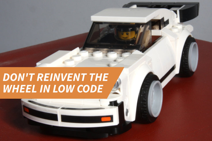 Smart Bricks: Don't Reinvent the Wheel in Low Code