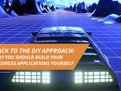 Back to the DIY approach: Why you should do business process automation yourself